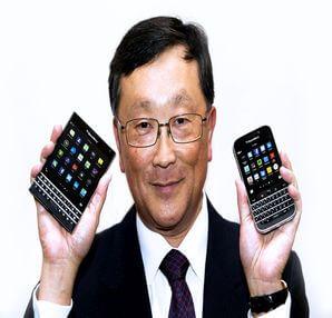 BlackBerry yeni telefonunu İphone ile tanıtınca..